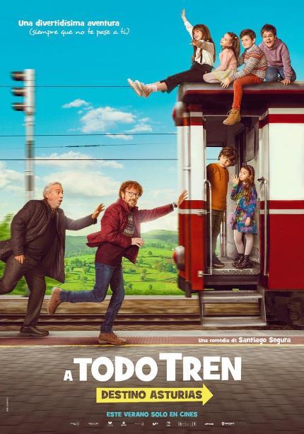 ¡ A todo tren! Destino Asturias